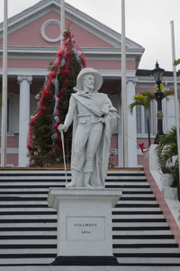 Christopher Columbus and the Government House