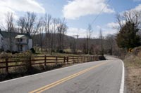 As you enter into Cannon County the roads just seem to flow with the hills