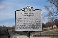 Most of the historic markers reflect Cannon County's role in the Civil War