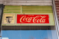 Original window details - Drugs & Coke, what a paradox