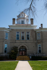 The Cumberland County Courthouse was built in 1905 - North side view