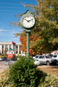 City clock - Smithville, Tennessee Established 1838