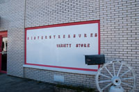Locally owned variety store on West Market Street