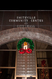 City Hall was all decked out