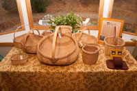Hand crafted - White Oak Baskets