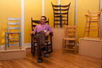Meet Tim Hintz of Fresh Chairs - unique, hand crafted ladderback chairs, stools and rockers