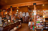 The shops are filled with a wide assortment of gifts & memorabilia