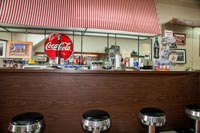 Inside Gainesboro Drugs you can still hang out at the soda fountain.