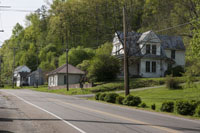 As you enter Oliver Springs you find the street peppered with homes showing character