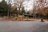 The visitors center at Cumberland Caverns