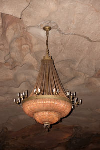 The famous chandelier from Lowes Theater in Bronx NY