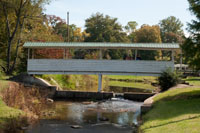 One of three covered bridges in Red Boiling Springs