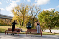 Exercise is how you find it at Barren Fork Greenway