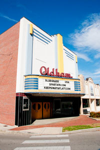 The Oldham Theater on was built in the 1930's