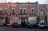 What was once one of Sparta's many hardware stores