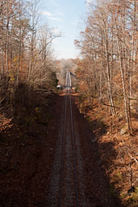 The Caney Fork & Western railroad