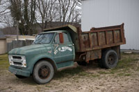 As a child I had a toy truck much like this one