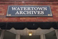 This place had documented Watertown's past through a great image collection displayed on the walls - closed... maybe next time